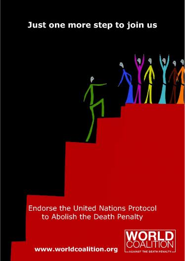 Endorse the United Nations Protocol to Abolish Death Penalty